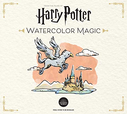 Harry Potter Watercolor Magic: (harry Potter Crafts, Gifts for Harry Potter Fans)