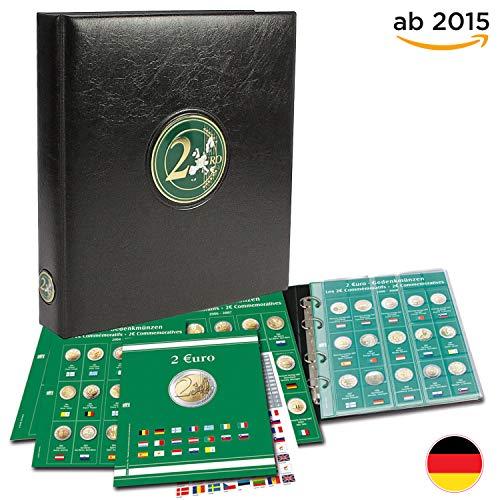 Münzensammelalbum für die 2 Euro Münzen Europa ab 2015: für 2 Euro Münzen ab 2015