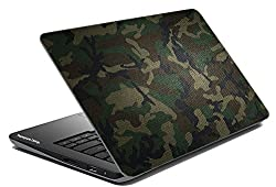Paper Plane Design 004_Army Army Collection Laptop Skins for Models up to 15.6-inch (Multicolor)