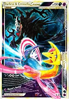 Pokemon Darkrai & Cresselia Legend JUMBO 100/102 MINT!