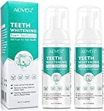 Toothpaste Cleansing Foam 2 pcs,Citrus Baking Soda Toothpaste,Ultra-fine Mousse Foam Deeply Cleaning Gums,Stain Removal,Natural Mouth Wash Water,Oral Care-Toothpaste Replacement