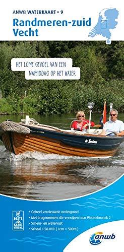 Randmeren-Zuid/Vecht 1:50 000 Waterkaart: Waterkaarten (ANWB waterkaart (9))