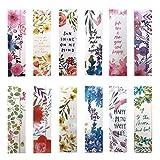 Bellissimi segnalibri con fiori per bambine, donne, ragazze, confezione da 30 pezzi (lingu...