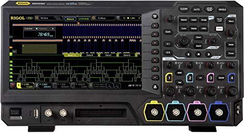 Rigol MSO5074 Digital-Oszilloskop 70 MHz 8 GSa/s 200 Mpts 8 Bit