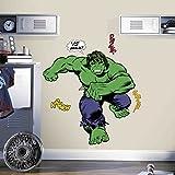 Marvel Comics Giant Vinyl Wall Decal Set Classic Hulk Comic Room Mates Album