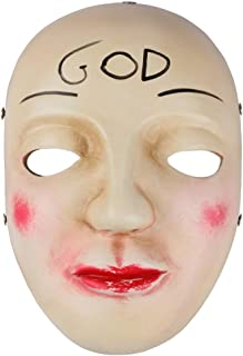 Gmasking Resin James Horror Anarchy God Halloween Mask Replica+Gmask Keychain