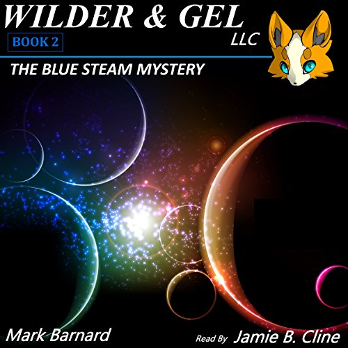 The Blue Steam Mystery audiobook cover art