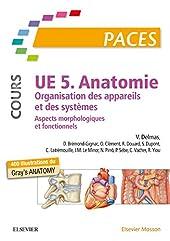 UE 5 - Anatomie (Cours) - Organisation des appareils et des systèmes - Aspects morphologiques et fonctionnels. Nouvelle présen de Vincent Delmas