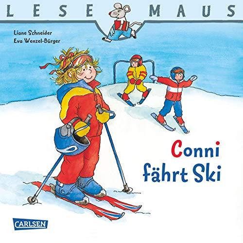 LESEMAUS: Conni fährt Ski