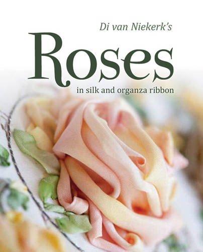 Sale!! Di Van Niekerk's Roses in Silk and Organza Ribbon