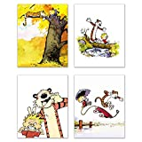 Picture This Prints Calvin and Hobbes Fotodrucke,