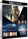 Coffret : Premier contact + Passengers + Life - Origine inconnue [4K Ultra HD + Blu-ray + Digital UltraViolet]