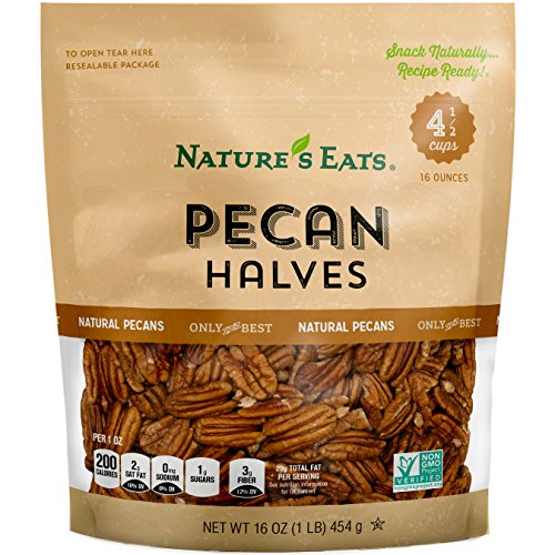 Nature's Eats Pecan Halves, 16 Ounce