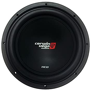 CERWIN VEGA XED12 XED 1000 Watts Max 12-Inch SVC Woofer 4 Ohms Black