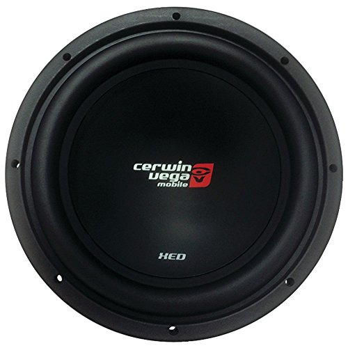 CERWIN VEGA XED12 XED 1000 Watts Max 12-Inch SVC Woofer 4 Ohms, Black