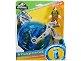 Mattel Jurassic World Imaginext Figura Básica con Vehículo FMX92