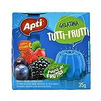 GELATINA TUTTI-FRUITTI Apti 粉末ゼリーの素 フルーツミックス 35g
