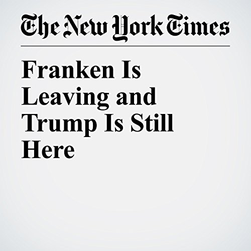 『Franken Is Leaving and Trump Is Still Here』のカバーアート