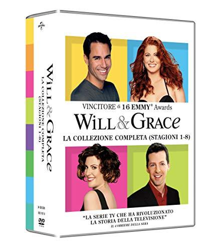 Will & Grace - Coll.Compl.St.1-8 ( Box 34 Dv)