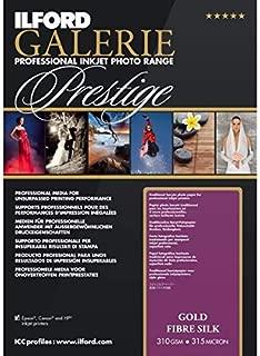 Ilford Galerie Prestige Gold Fibre Silk–Photo Paper, 310g, 25Sheets, A2
