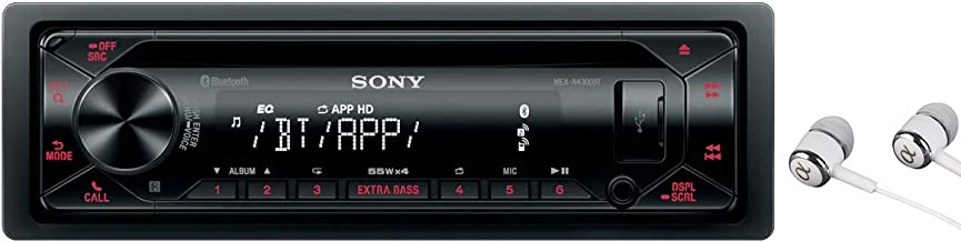 Sony MEX-N4300BT Built-in Dual Bluetooth Voice Command CD/MP3 AM/FM Radio Front USB AUX..