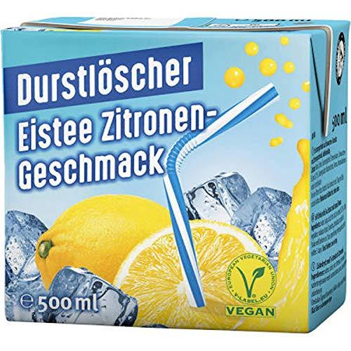 Durstlöscher Eistee Zitrone Fruchtsaftgetränk 500ml 24er Pack