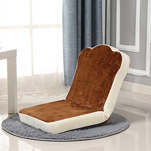 HCJLR FJXLZ® Pouf, Pliable Individuel Petit canapé-lit Ordinateur Dossier Chaise étage canapé Pliable, Amovible Sacs de Haricot Paresseux Faut (Couleur : #3)