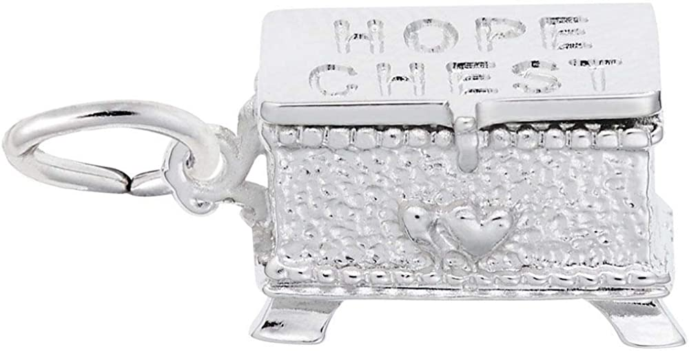 Max 82% OFF Rembrandt Charms Hope Chest ! Super beauty product restock quality top! Silver 925 Movable Sterling
