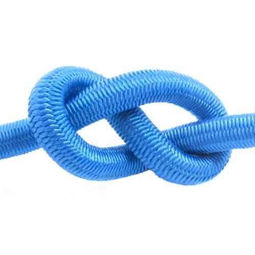 5m corde élastique câble 4mm bleu - plusieurs tailles et couleurs