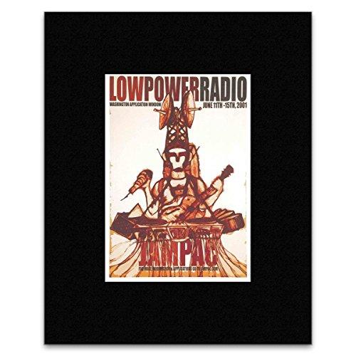 Preisvergleich Produktbild Stick It On Your Wall Mini-Poster,  Motiv Low-Power Radio,  Jam Pac 2001,  29, 1 x 20, 2 cm