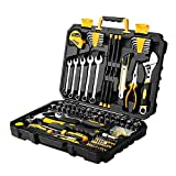 Best Car Tool Kits - DEKOPRO 158 Piece Tool Set-General Household Hand Tool Review