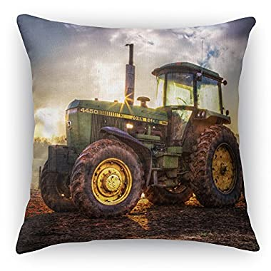 ImagesPrinted e 16x16 inch Double Sided Burlap Throw Pillow by Celebrate Life Gallery