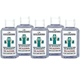 Gel Igienizzante Mani alcool 70% senza risciacquo 80 ml (5 x 80 ml) profumo limone - Sinergie Naturali