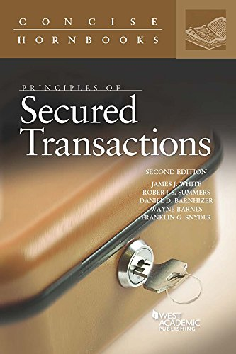 Principles of Secured Transactions (Concise Hornbook Series) (English Edition)