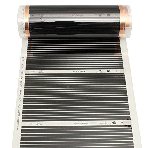 Infrarot Fußbodenheizung Tutoy 50Cmx3M 220V Far Bild 5*