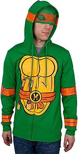 Teenage Mutant Ninja Turtles I Am Michelangelo Zip Up sweat à capuche grand
