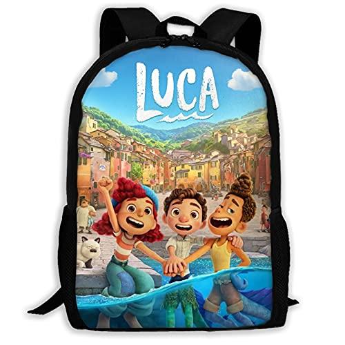 Lu-ca Backpack Ergonomics School Bag 17' Large Capacity Laptop Backpack Fashion Lightness Shoulde Book Bag for Boys Girls