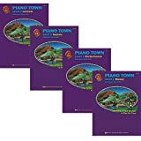 Piano Town Level 3 Learners Pack - Lesson, Theory, Performance and Technic Books