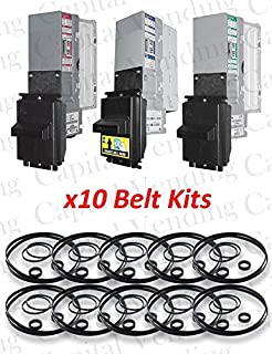 10x Belt Kit for Mars/MEI AE & VN Series 2000 Dollar Bill Validators & Acceptors