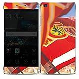 DeinDesign Huawei P8 Folie Skin Sticker aus Vinyl-Folie Aufkleber 1. FC Union Berlin Fahne Fanartikel
