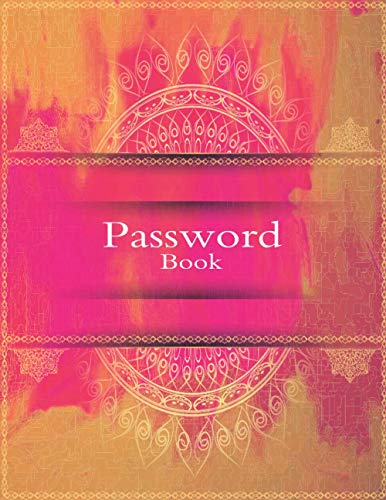 Password Book: Premium Colors And High Quality Paper  password keeper;password notebook;password journal;internet password book;password organizer;password keeper book