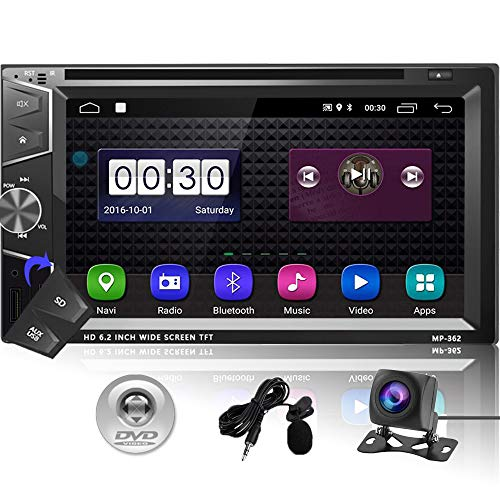 Camecho Double Din Android Car Ster…