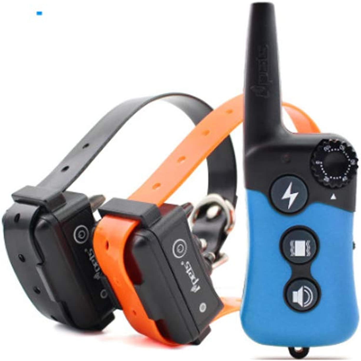 Dog Training Collar Pet 300m Device Rechargeable Waterproof Shock for Large Vibration with Remote