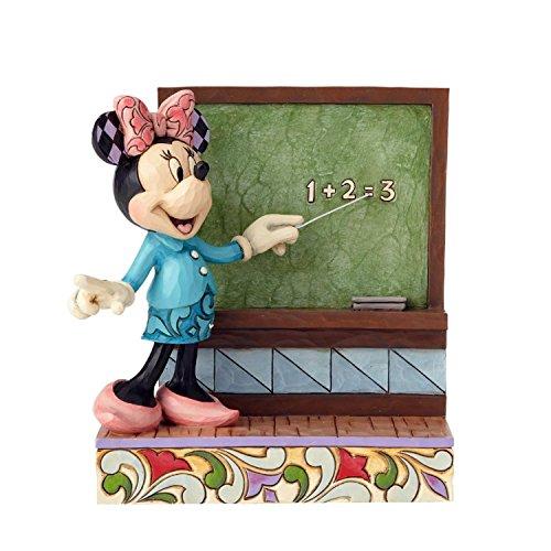 Jim Shore Minnie Mouse Teacher Figurine
