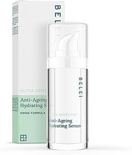 Marca Amazon - Belei Sérum hidratante antiedad para pieles ultrasensibles 30ml