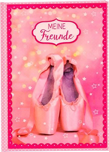 Freundebuch A5 Ballerina