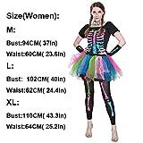 GBYAY 2019 Halloween Kleid Frauen Scary Overall Skeleton Cosplay Kinder Schädel Kostüm Baby Strampler Hexe Disguise Devil
