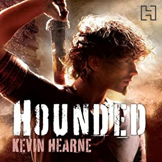 Hounded     The Iron Druid Chronicles, Book 1              By:                                                                                                                                 Kevin Hearne                               Narrated by:                                                                                                                                 Christopher Ragland                      Length: 9 hrs and 42 mins     569 ratings     Overall 4.3