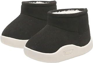 DEBAIJIA Chaussures pour Tout-Petits 0-3T Bébé Marche Couleur Unie Semelle Souple Non-Slip Mesh Respirant PVC Matériau léger