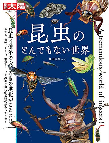 昆虫のとんでもない世界 (282) (別冊太陽 日本のこころ 282)の詳細を見る